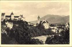 Postcard Faulenbach Füssen im schwäbischen Kreis Ostallgäu, Blick auf den Ort