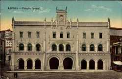 Postcard Lisboa Lissabon Portugal, Estacao Central, Zentralbahnhof