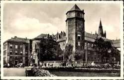 Ak Kaliningrad Königsberg Ostpreußen, Schloß vom Münzplatz