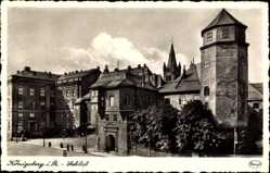 Ak Kaliningrad Königsberg Ostpreußen, Schlossansicht