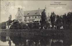 Postcard Groningen Niederlande, Diakonessenhuis Praediniussingel