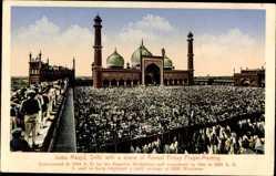 Ak Delhi Indien, Juma Masjid, Annual Friday Prayer Meeting