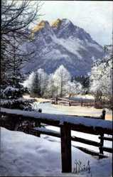 Postcard Garmisch Partenkirchen in Oberbayern, Nenke und Ostermaier 160 2904