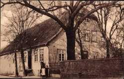 Postcard Bünde im Kreis Herford, Gasthaus zur blühenden Linde, August Niemann