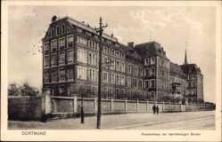 Postcard Dortmund im Ruhrgebiet, Krankenhaus der barmherzigen Brüder