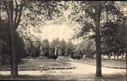 Postcard Mönchengladbach in Nordrhein Westfalen, Blick auf den Kaiserplatz, Park