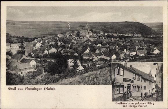 Ansichtskarte Postkarte Monzingen An Der Nahe Akpool De