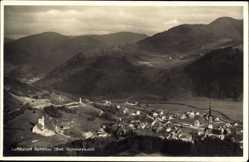 Postcard Schönau bad. Schwarzwald, Panoramablick auf den Ort
