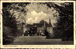 Postcard Drehna Boxberg in der Oberlausitz, Blick auf das Fürstliche Schloß
