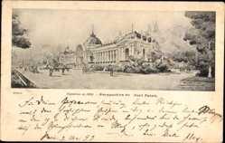 Künstler Ak Paris, Expo, Weltausstellung 1900, Petit Palais