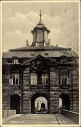Postcard Hanau im Main Kinzig Kreis Hessen, Am Frankfurter Tor