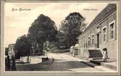 Postcard Bad Bentheim in Niedersachsen, Blick in die Schlossstraße, Kind, Treppe