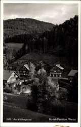 Ak Międzygórze Wölfelsgrund Schlesien, Hotel Pension Weiss