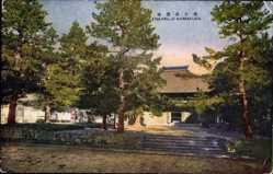 Postcard Kamakura Kanagawa Japan, general view of the Enkaku ji