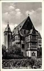 Postcard Geisenheim am Rhein Hessen, Blick auf Schloss Schönborn