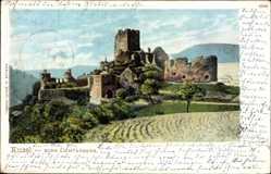 Postcard Kusel am Kuselbach Rheinland Pfalz, Die Burg Lichtenberg