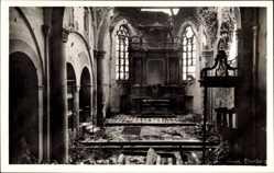Foto Ak Elten Emmerich an Niederrhein, Die Zerstörte Stiftskirche