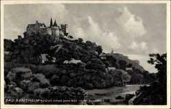 Postcard Bad Bentheim in Niedersachsen, Fürstliches Schloss von 1625