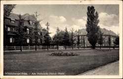 Postcard Wittenberge in der Prignitz, Heinrich Heine Platz