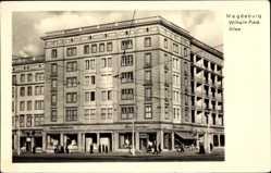 Postcard Magdeburg in Sachsen Anhalt, Wilhelm Pieck Allee