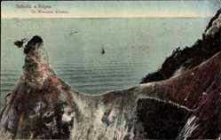 Postcard Sassnitz auf der Insel Rügen, Große Wissower Klinken