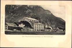 Postcard Oberammergau in Oberbayern, Blick auf das Passionsschauspielhaus