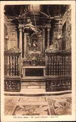 Postcard Malta, The Silver Gates, St. John's Church, Kirche, Altarblick