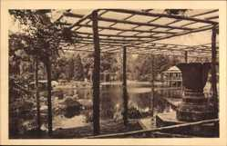 Ak Wrocław Breslau Schlesien, 100 Jahre Freiheitskriege, Japanischer Garten