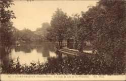 Ak Saint Gratien Val d'Oise, Un coin du Lac de la Princesse