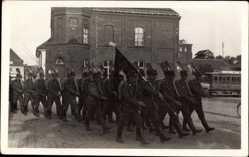 Foto Ak Osjorsk Kaliningrad Darkehmen Ostpreußen, Reichsarbeitsdienst, RAD