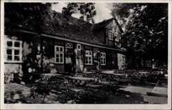 Postcard Hameln in Niedersachsen, Restaurant Forsthaus Heisenküche, E. Pieper
