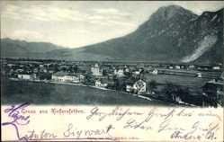 Postcard Kiefersfelden im Kreis Rosenheim Oberbayern, Gesamtansicht der Ortschaft