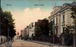 Postcard Herne im Ruhrgebiet Nordrhein Westfalen, Die Schäferstraße