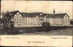 Postcard Untermarchtal Donau, Anstalt zum Guten Hirten, Erholungsheim für Schwestern