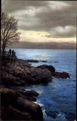 Postcard Laurana Lovran Kroatien, Nenke und Ostermaier 72 1854