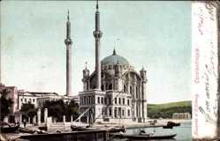 Postcard Konstantinopel Istanbul Türkei, Mosquée d'Orlakeuy, Moschee