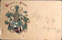 Studentika Litho Mittweida in Sachsen, Bavaria sei's Panier, Wappen