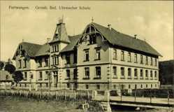 Postcard Furtwangen im Schwarzwald Baar Kreis, Uhrmacherschule