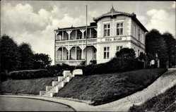 Postcard Sassnitz auf der Insel Rügen, Pension Villa Arndt