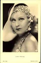 Ak Schauspielerin Lilian Harvey, Portrait, Ross Verlag 7140 1
