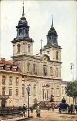 Künstler Ak Cieslewski, T., Warszawa Warschau Polen, Kosciol Sw. Krzyza