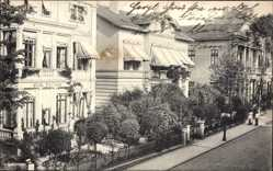 Postcard Bad Oeynhausen in Nordrhein Westfalen, Villa Fortuna in der Klosterstraße