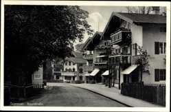 Postcard Tegernsee im Kreis Miesbach Oberbayern, Blick in die Rosenstraße