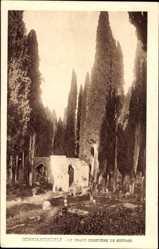 Postcard Konstantinopel Istanbul Türkei, Le Grand Cimetiere de Scutari, Grabmale