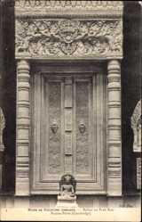 Ak Bakou ou Prah Kou Kambodscha, Musee de Sculpture Comparee, Fausse Porte