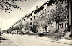 Postcard Görlitz in der Lausitz, Blick in die Reichertstraße, Wohnhäuser, Fassaden