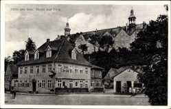 Postcard Plön am See Holstein, Partie am Hotel zur Post, Emil Rausche