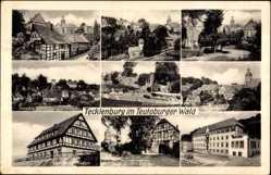 Postcard Tecklenburg in Nordrhein Westfalen, Jugendherberge, Genesungsheim