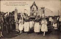 Ak Sainte Anne la Palue Finistère, Pardon, Femmes vêtues, Costumes de mariage