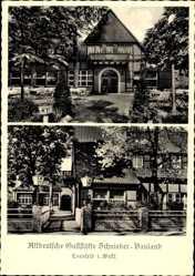 Postcard Coesfeld im Münsterland, Gartenwirtschaft Schnieder Bauland, Garten